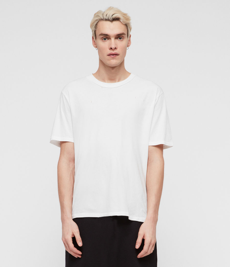 Men's Sunset Crew T-Shirt (optic_white) - Image 3