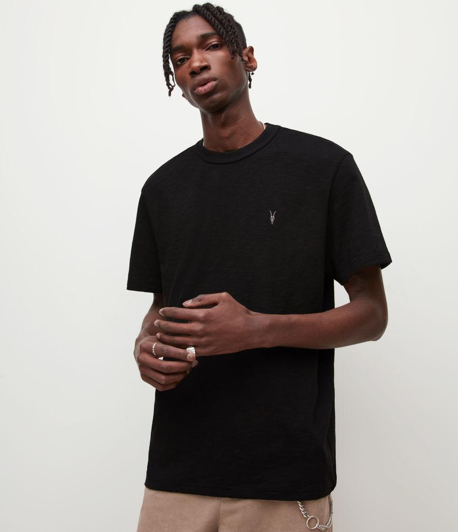 Mens Dexter Crew T-Shirt (jet_black) - Image 1