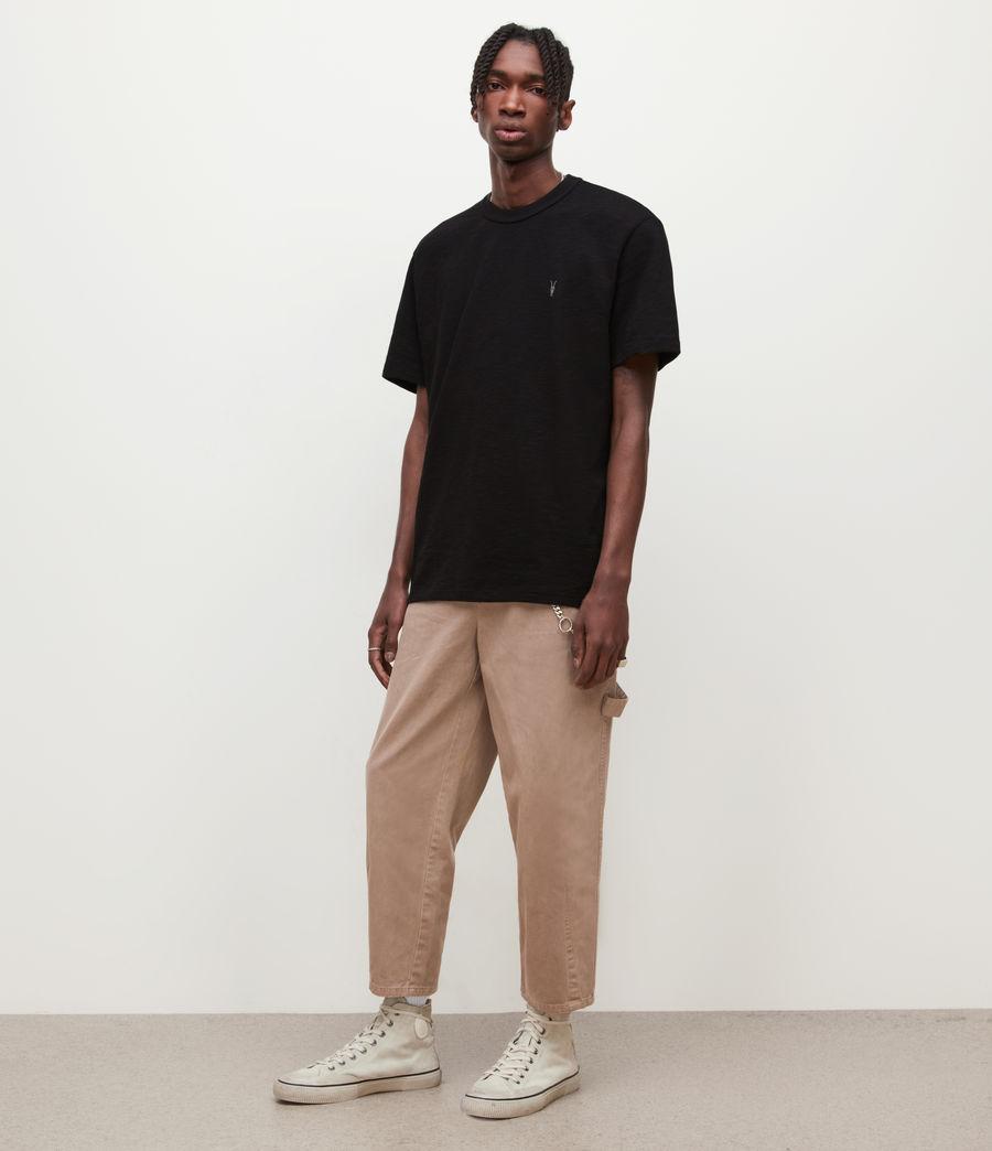 Mens Dexter Crew T-Shirt (jet_black) - Image 3