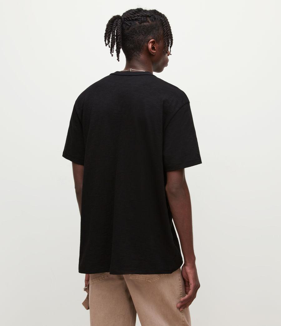 Mens Dexter Crew T-Shirt (jet_black) - Image 5