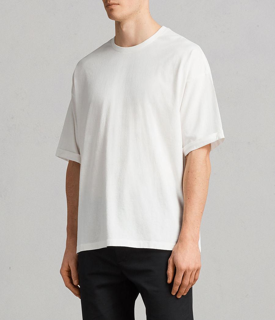Men's Kleve Crew T-Shirt (chalk_marl) - Image 3