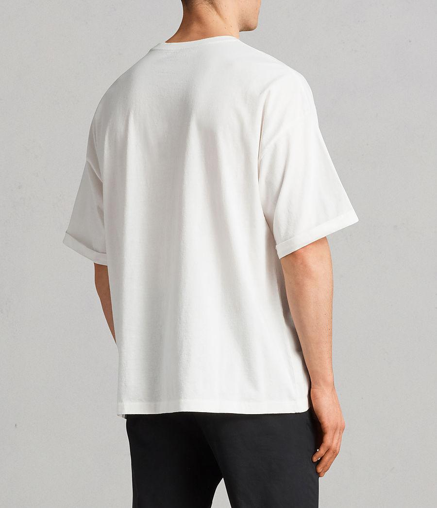 Men's Kleve Crew T-Shirt (chalk_marl) - Image 4