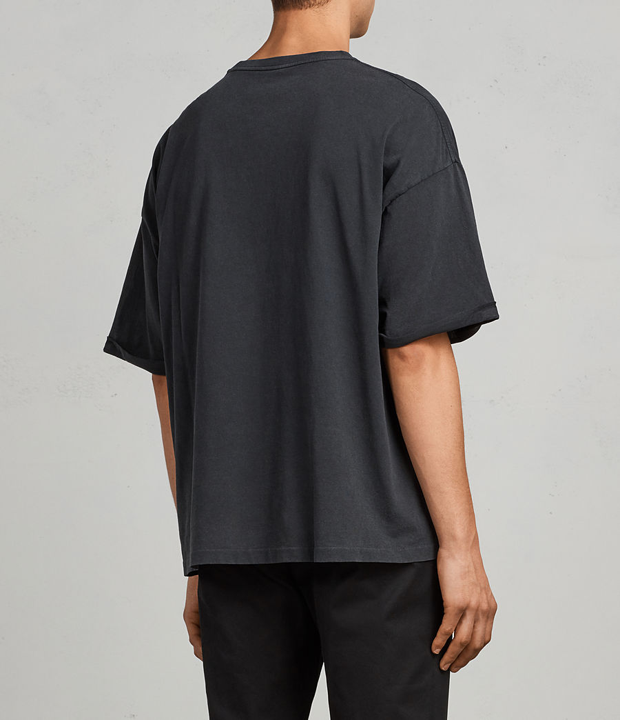 Hombre Camiseta Kleve (vintage_black) - Image 3
