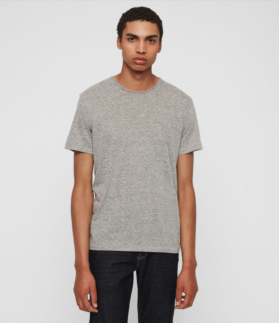 Men's Gale Crew T-Shirt (grey_mouline) - Image 1