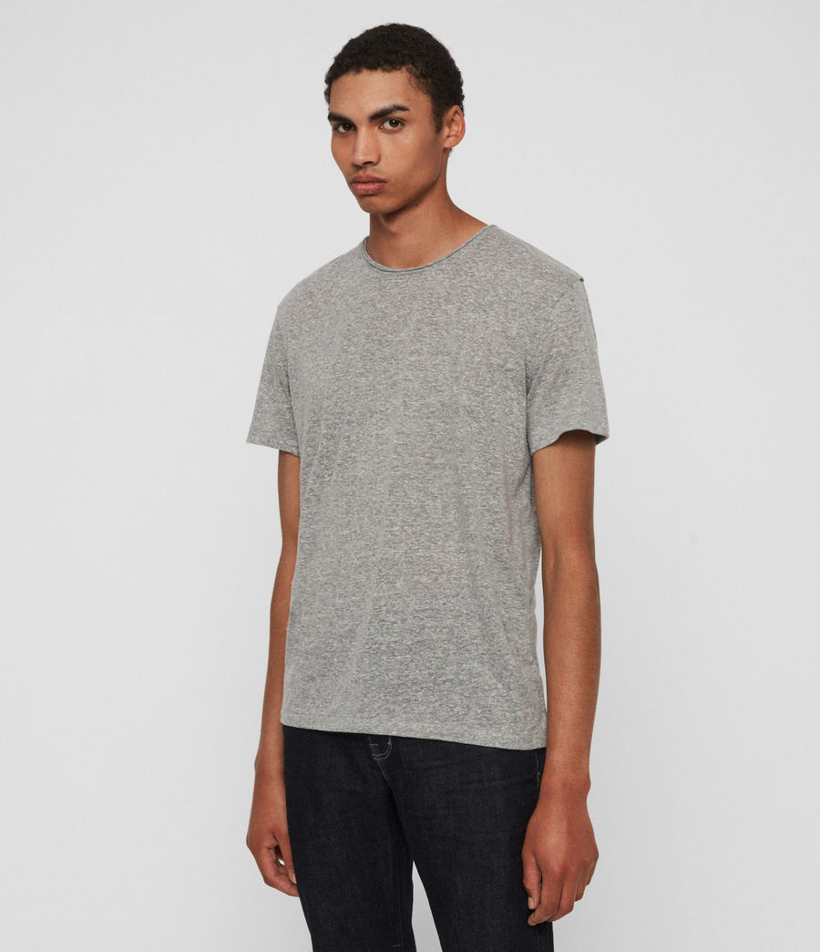 Men's Gale Crew T-Shirt (grey_mouline) - Image 4