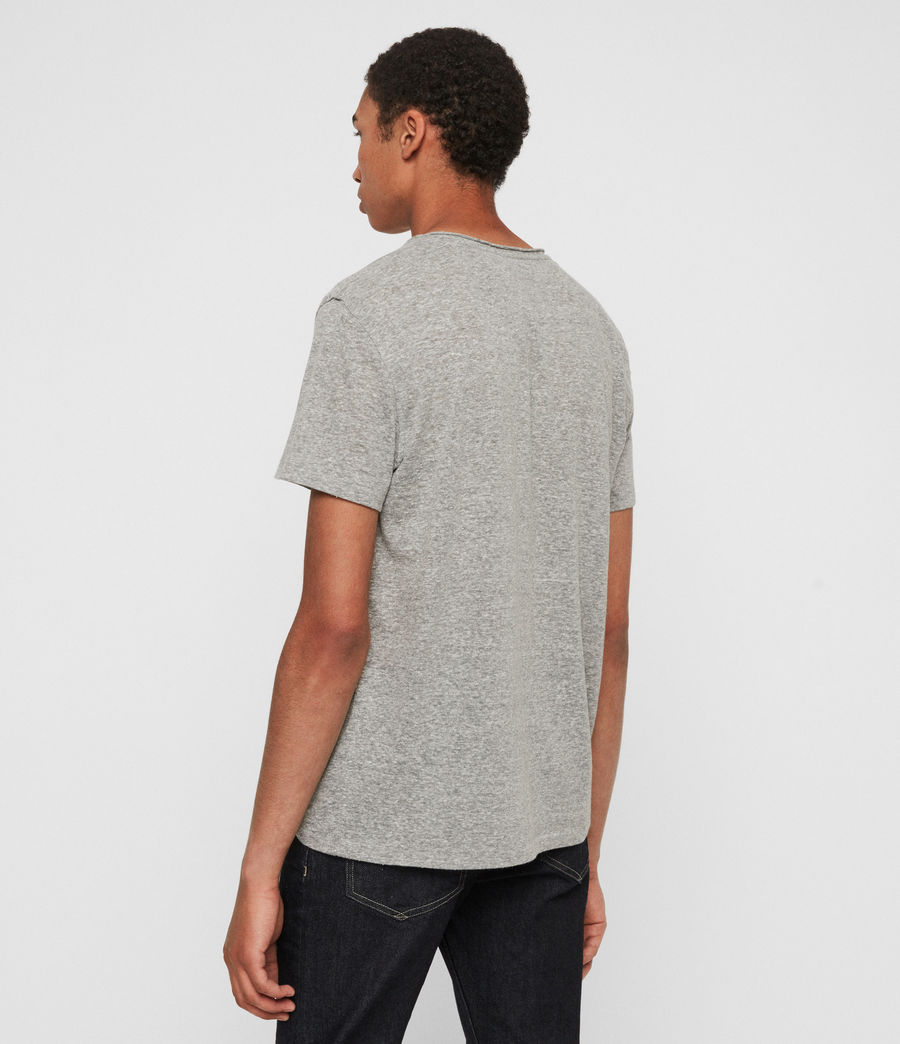 Men's Gale Crew T-Shirt (grey_mouline) - Image 5