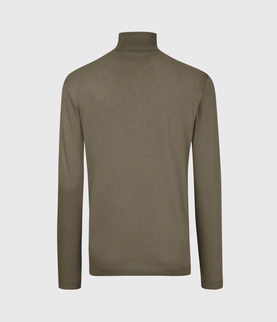 Mens Parlour Roll Neck Top (ensign_green) - Image 3