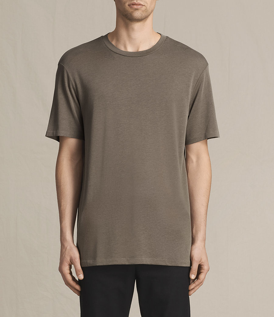 Men's Mars Crew T-Shirt (washed_khaki) - Image 1