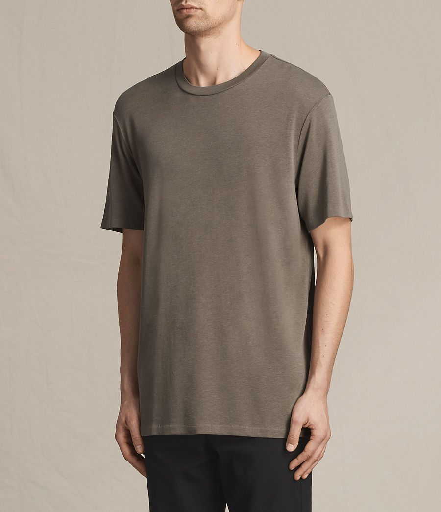 Men's Mars Crew T-Shirt (washed_khaki) - Image 2