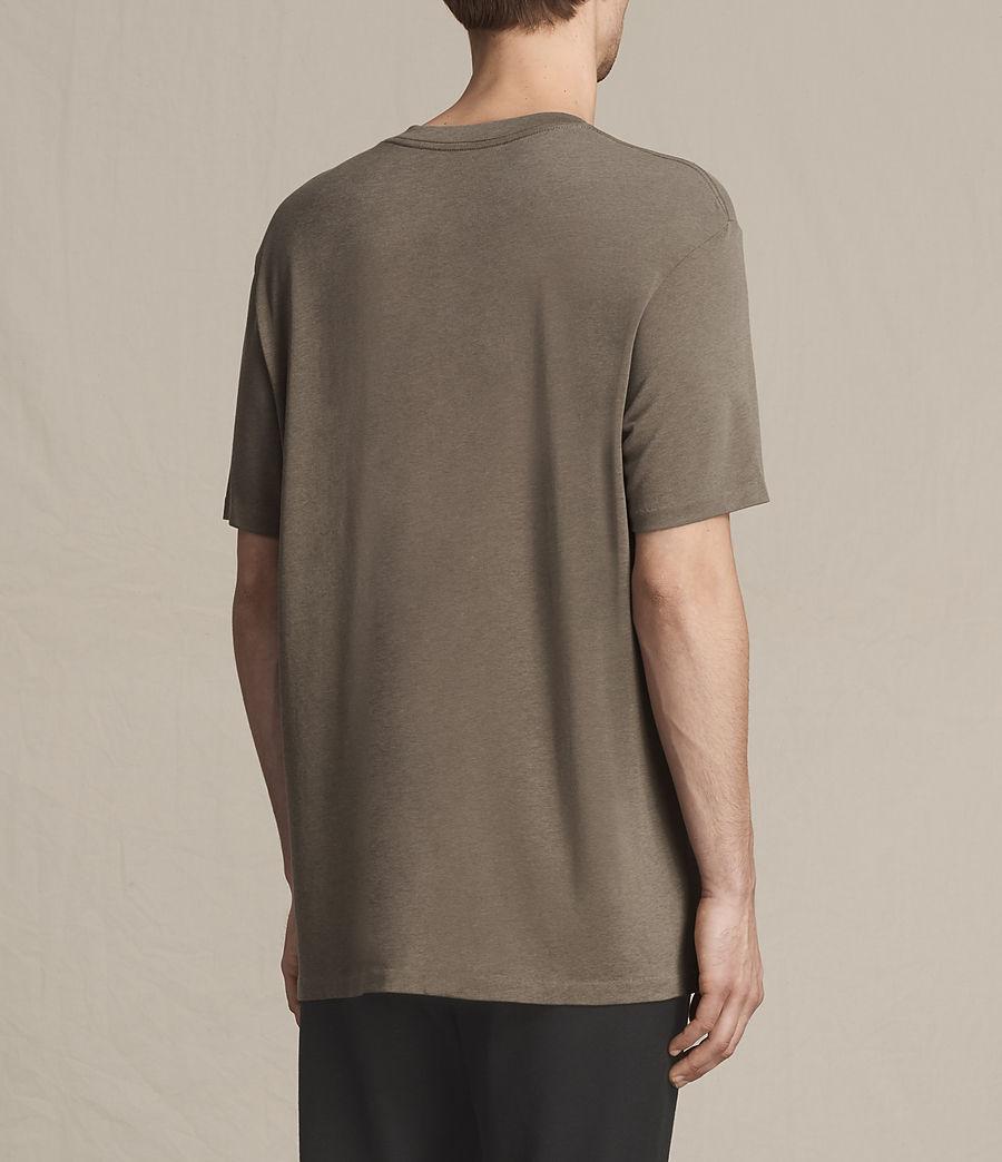 Men's Mars Crew T-Shirt (washed_khaki) - Image 3