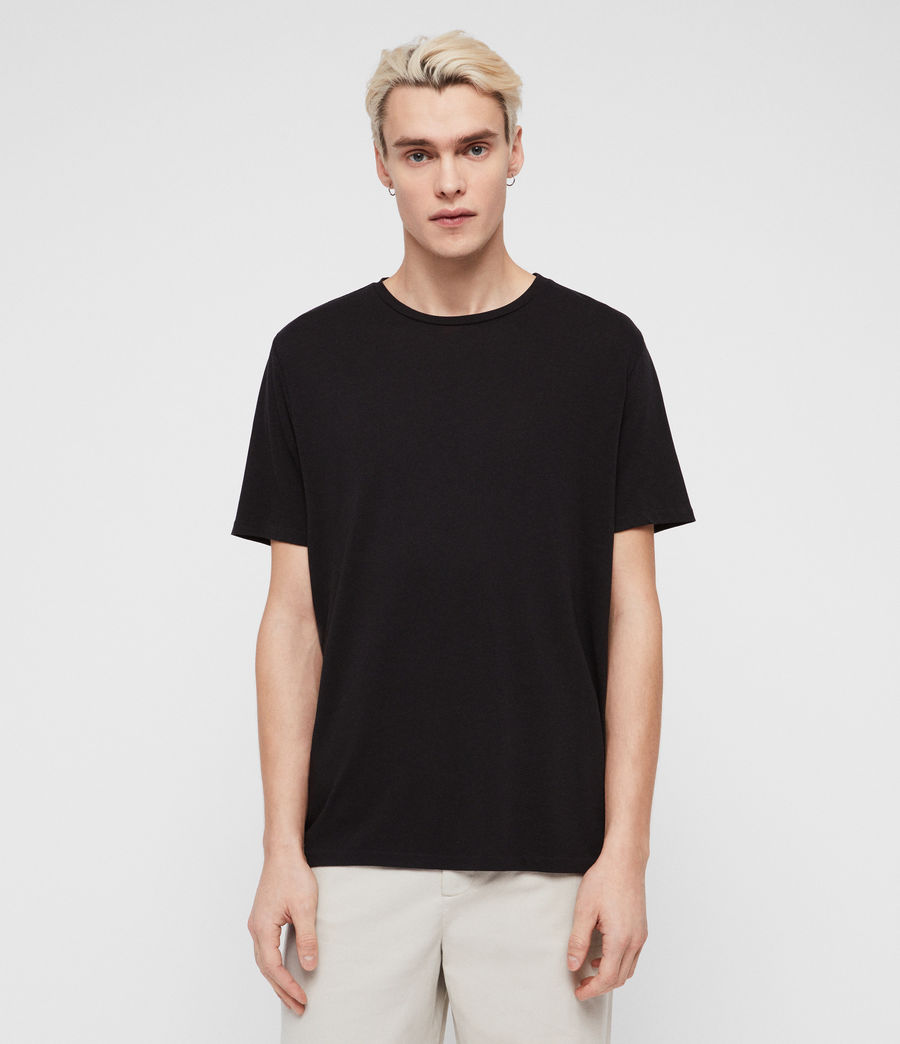 Men's Pluto Crew T-Shirt (jet_black) - Image 1