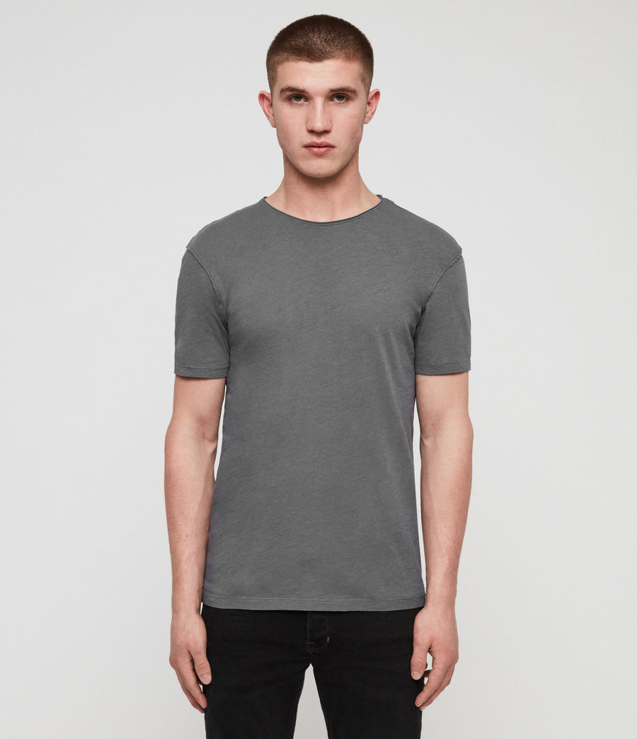 Mens Figure Crew T-Shirt (slate_grey) - Image 1