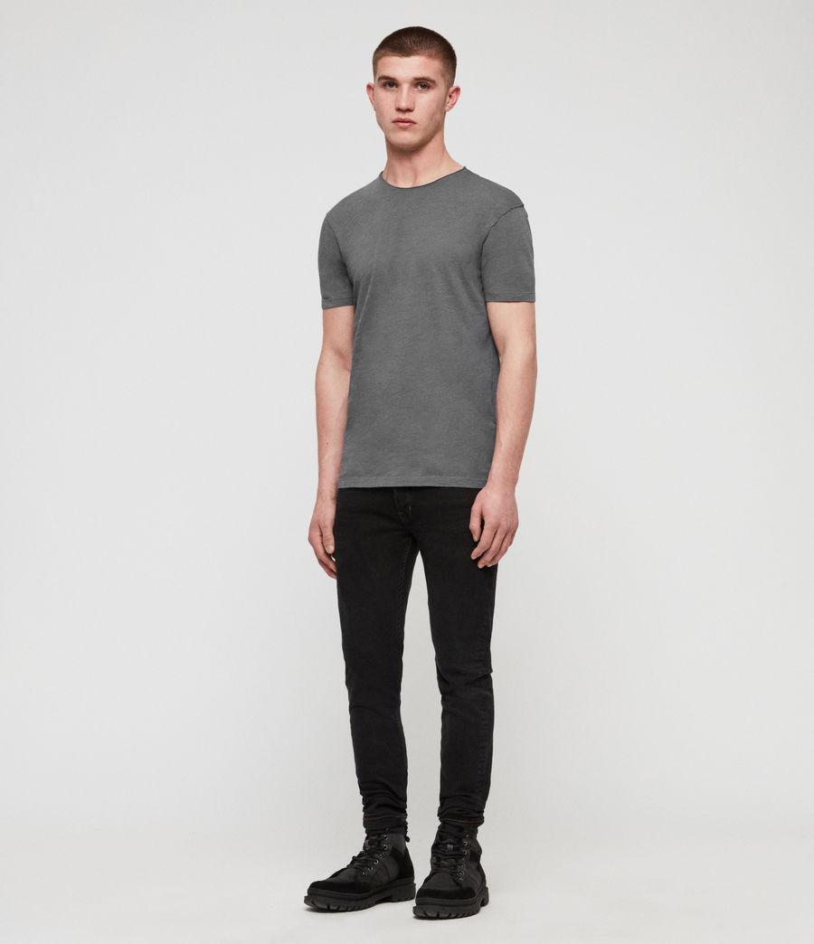 Mens Figure Crew T-Shirt (light_aqua_blue_ml) - Image 3