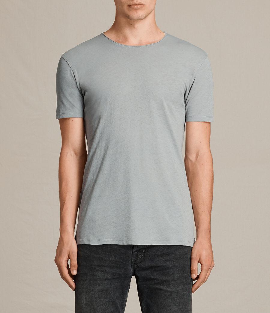 Hombres Figure Crew T-Shirt (storm_blue) - Image 1