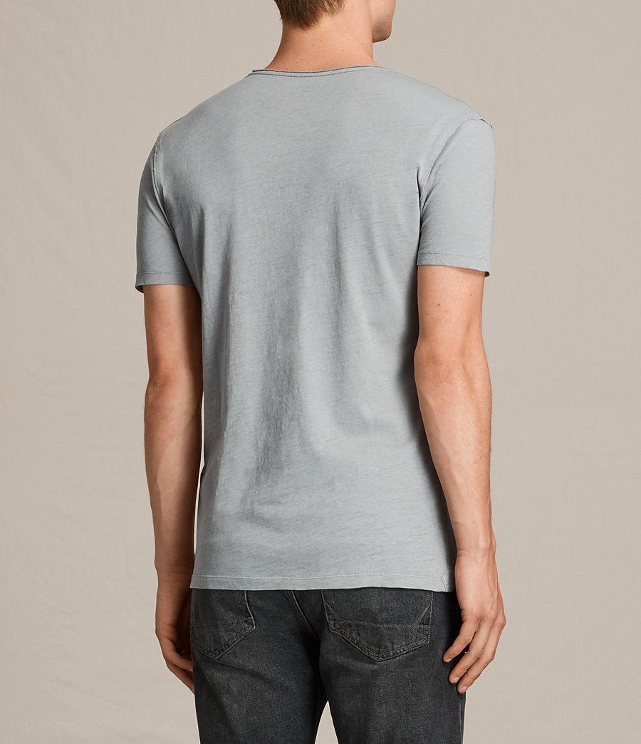 Hombres Figure Crew T-Shirt (storm_blue) - Image 4