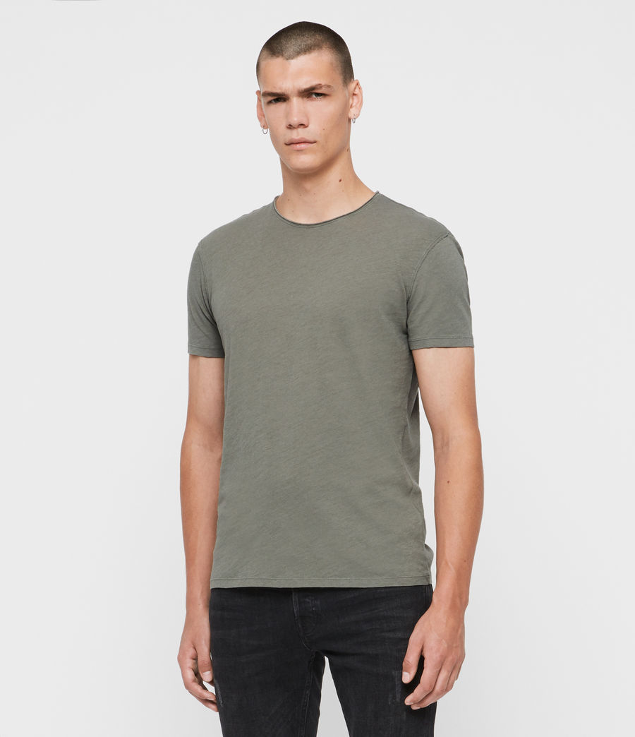Uomo T-shirt Figure (willow_green) - Image 4