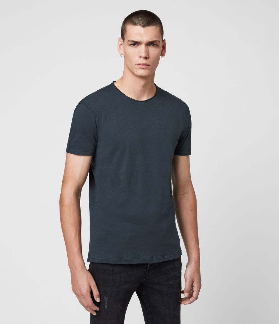 Men's Figure Crew T-Shirt (ink_navy) - Image 4