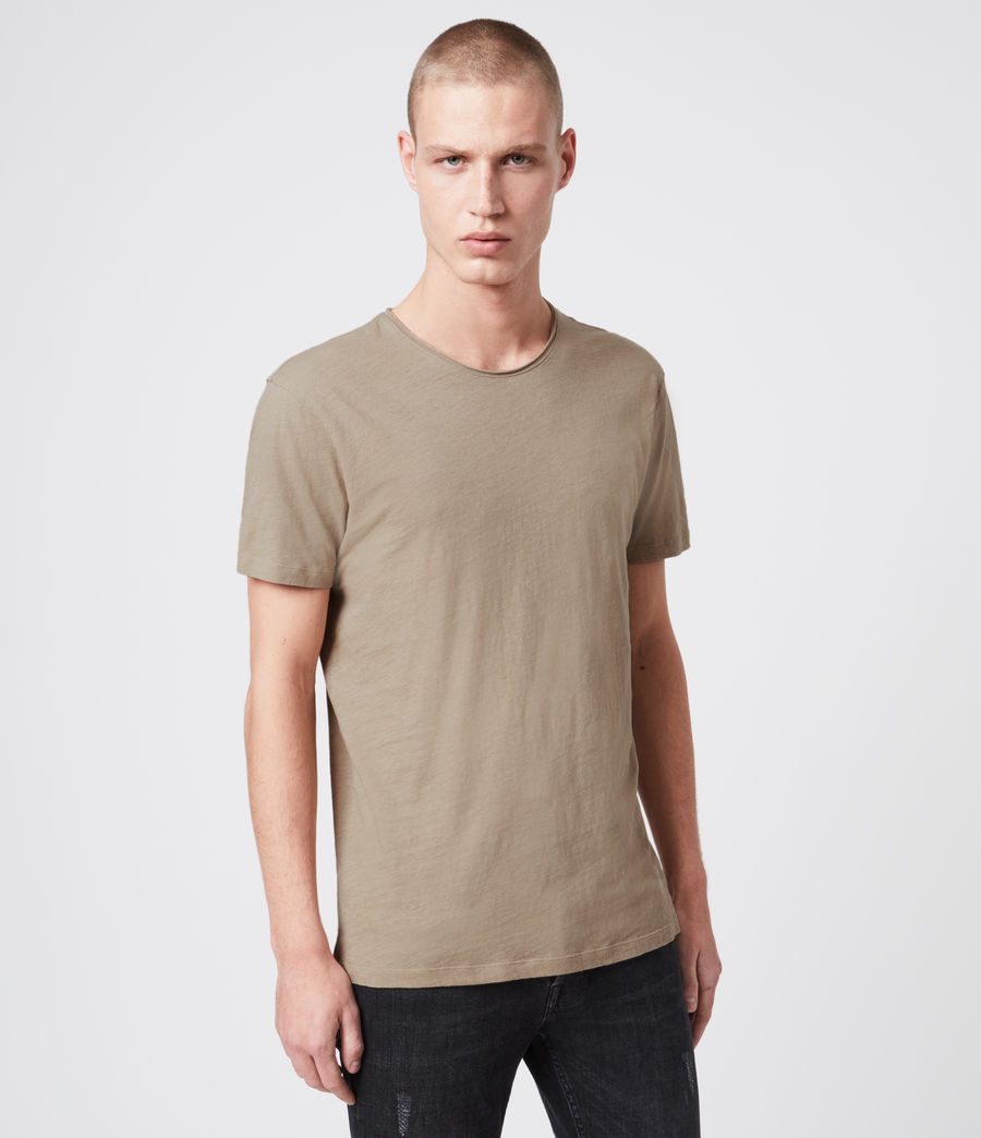 Herren Figure Crew T-Shirt (willow_green) - Image 1