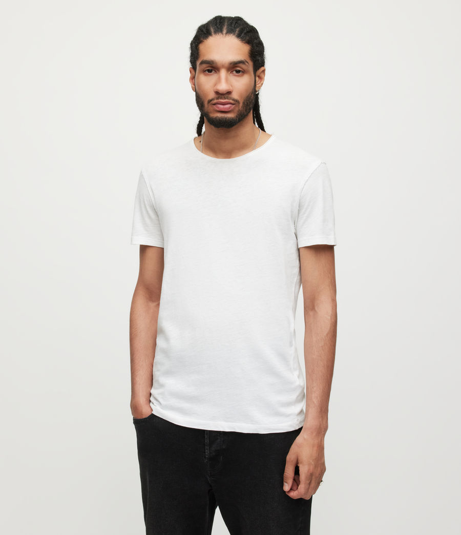 Hommes T-Shirt en Coton Pur Figure (optic_white) - Image 1
