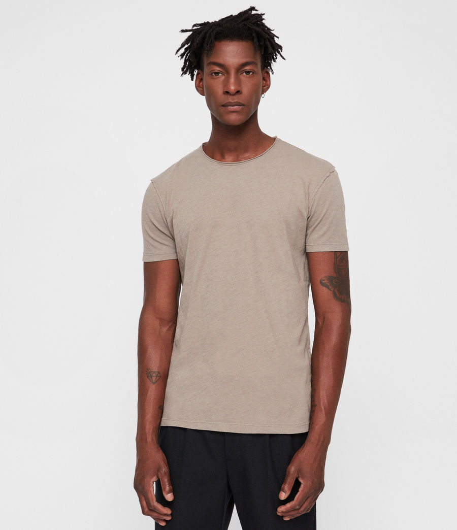 Hommes T-Shirt Figure (dune_brown) - Image 1