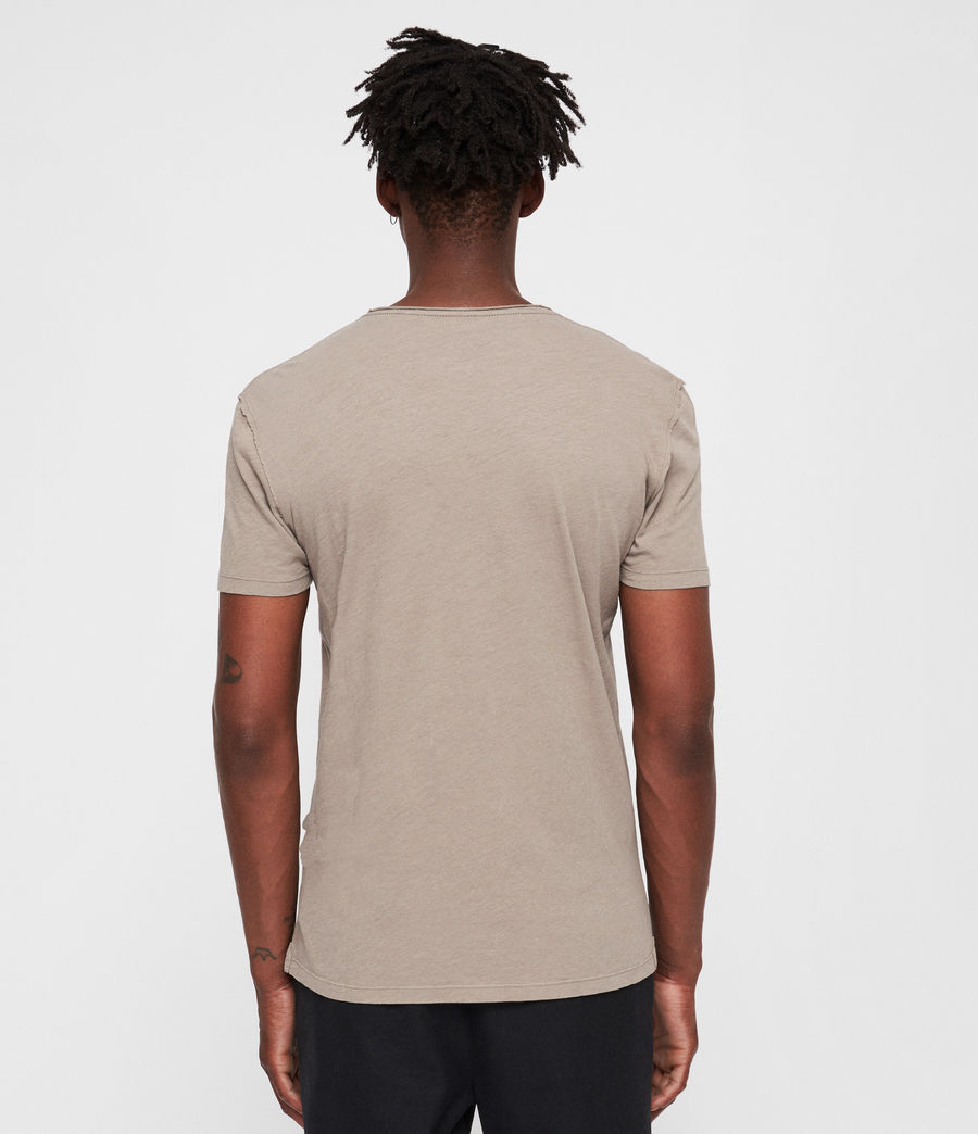 Hommes T-Shirt Figure (dune_brown) - Image 4