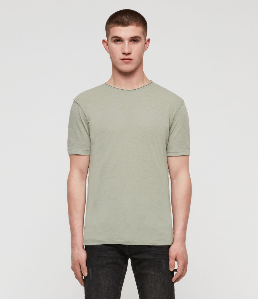 Hommes T-Shirt Figure (mint_green) - Image 1
