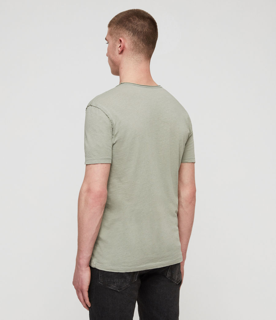 Hommes T-Shirt Figure (mint_green) - Image 4