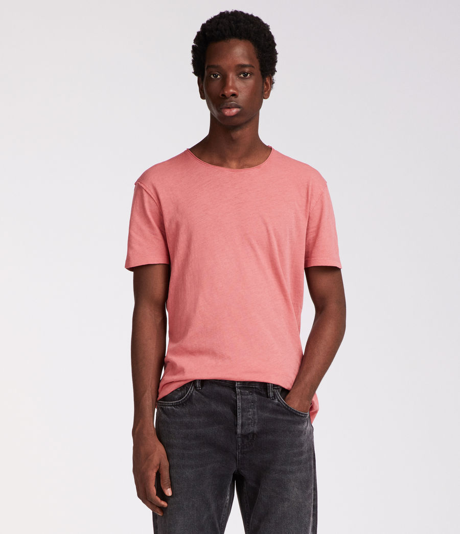 Hommes T-Shirt Figure (facade_pink) - Image 1
