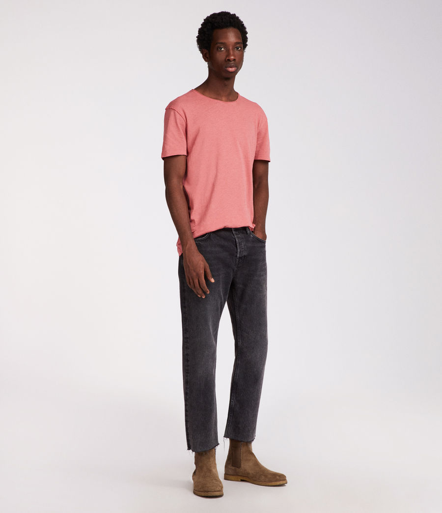 Hommes T-Shirt Figure (facade_pink) - Image 2