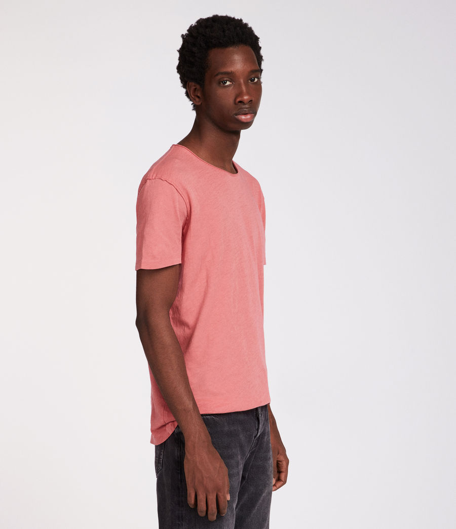 Hommes T-Shirt Figure (facade_pink) - Image 3