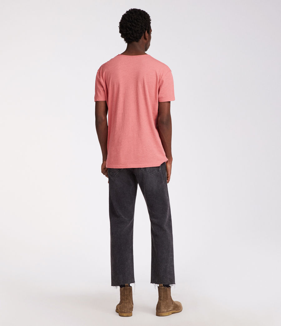 Hommes T-Shirt Figure (facade_pink) - Image 4