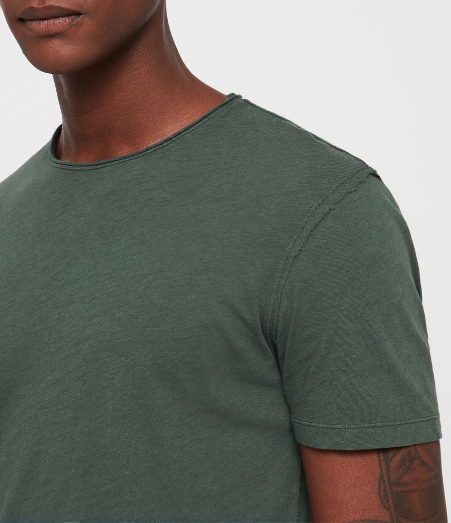 Men's Figure Crew T-Shirt (canopy_green) - Image 2