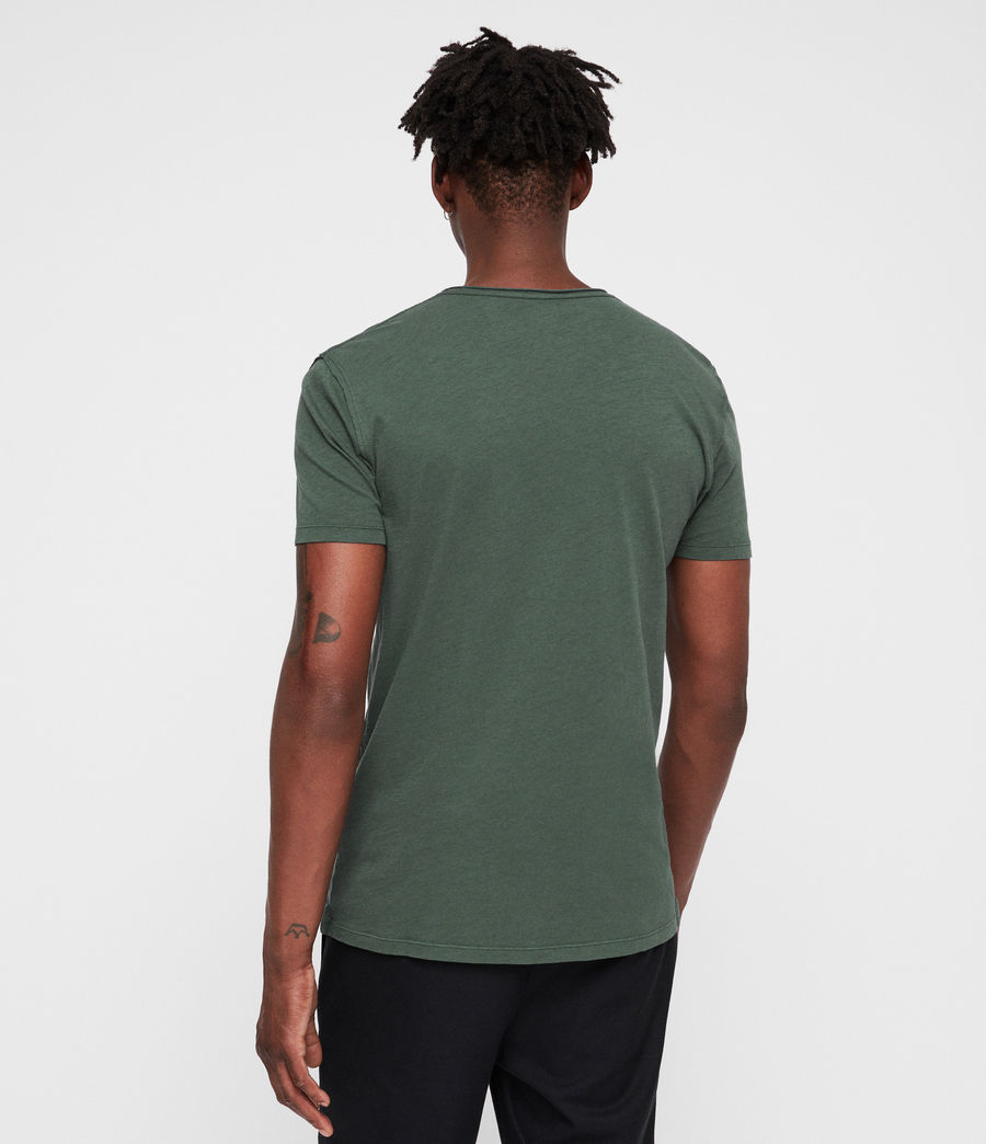 Men's Figure Crew T-Shirt (canopy_green) - Image 4