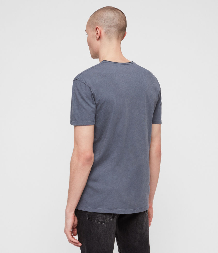 Hommes T-Shirt Figure (granite_blue) - Image 4