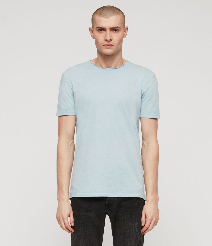 Men's Figure Crew T-shirt (arbour_blue) - Image 1