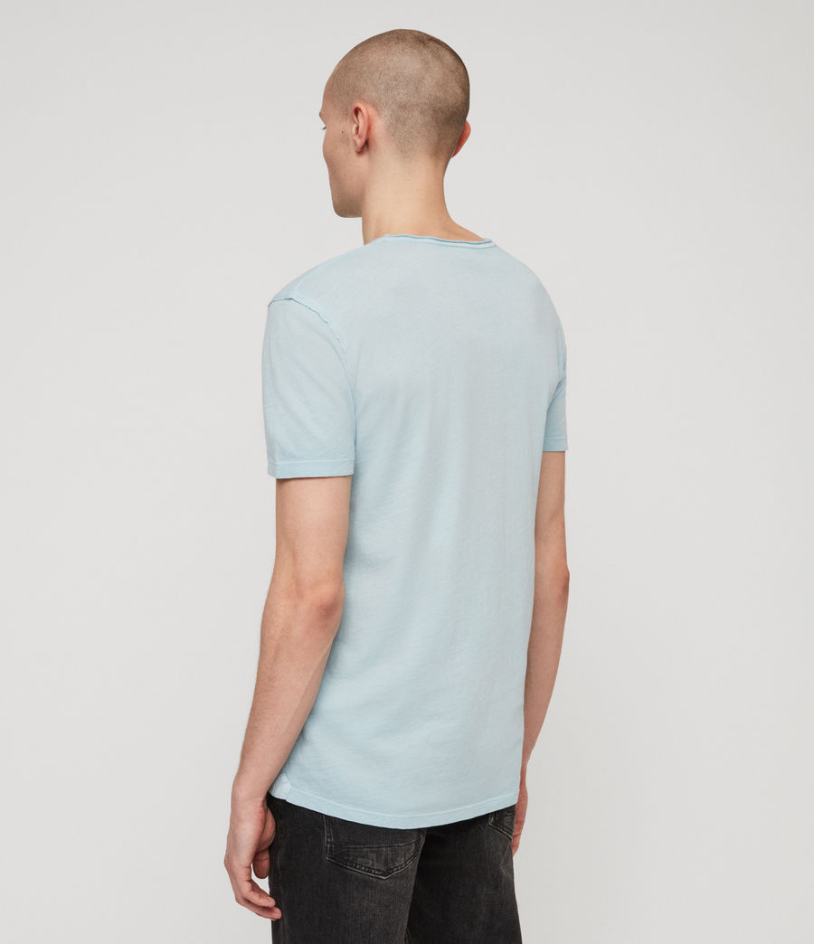 Men's Figure Crew T-shirt (arbour_blue) - Image 4