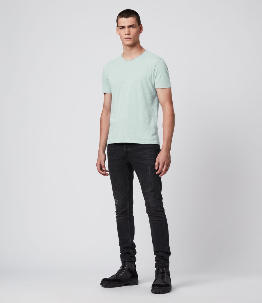 Men's Figure Crew T-Shirt (menthe_green) - Image 3