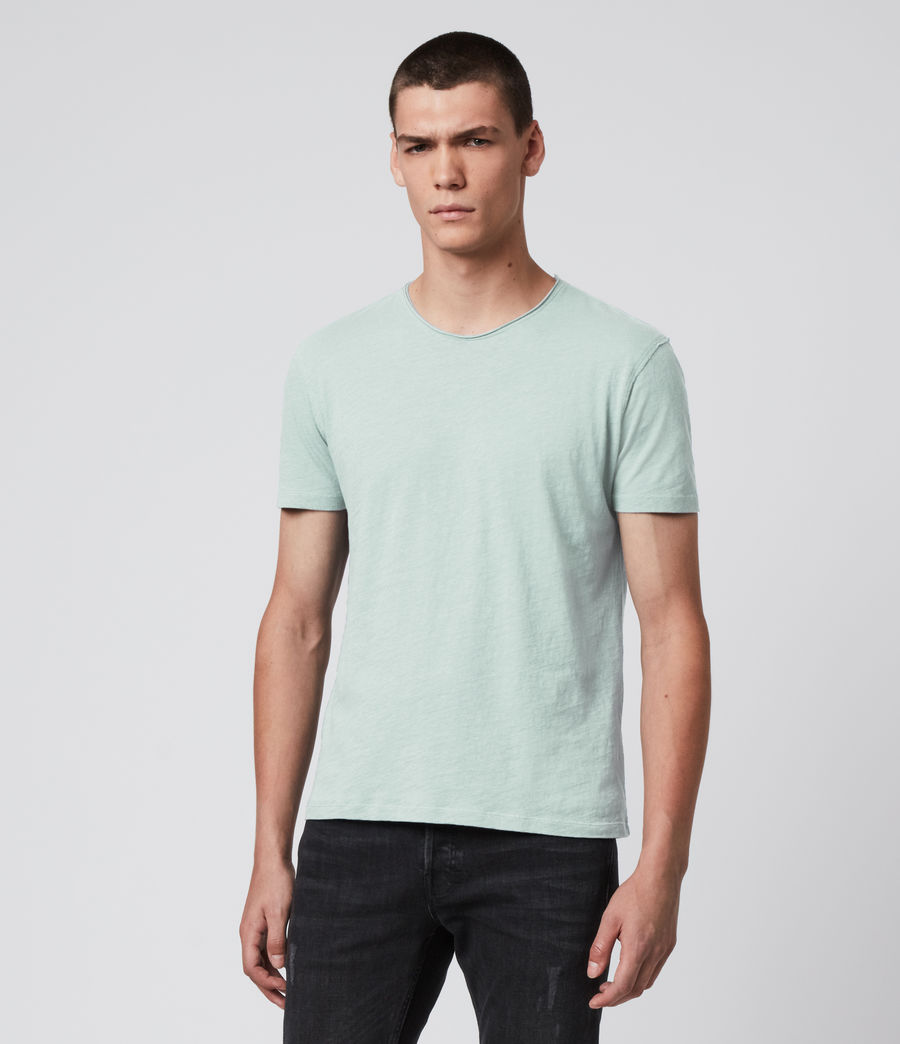 Men's Figure Crew T-Shirt (menthe_green) - Image 4