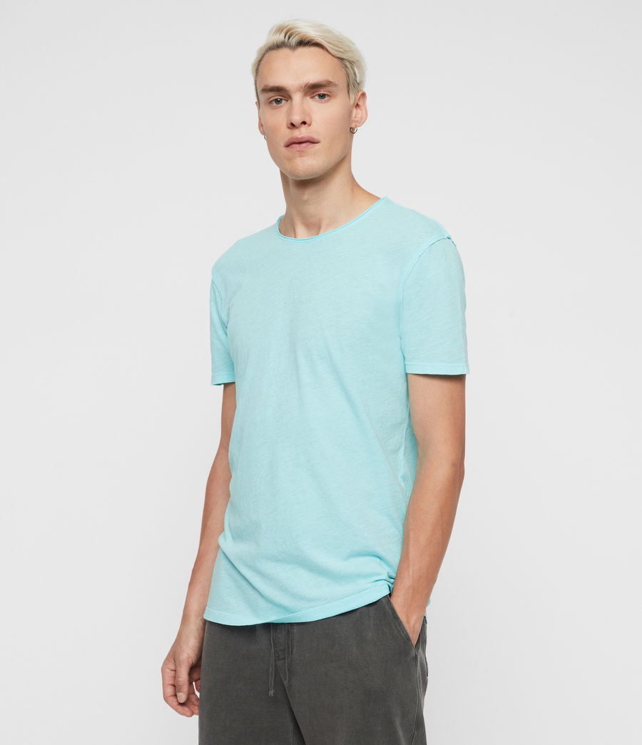 Hommes T-Shirt Figure (hawaii_blue) - Image 4