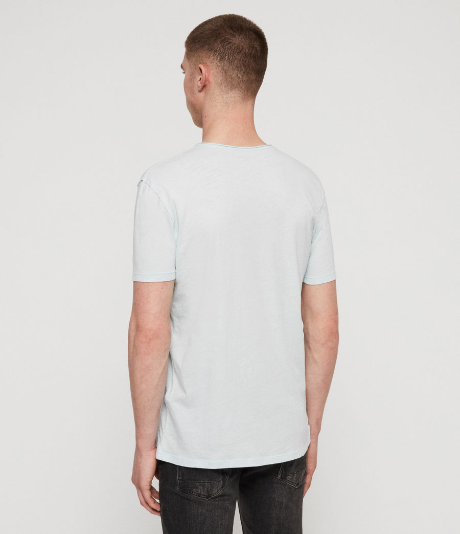Men's Figure Crew T-Shirt (haze_blue) - Image 5