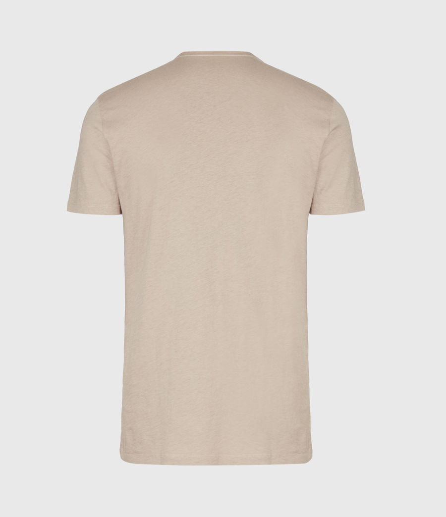 Mens Figure Crew T-Shirt (limestone_taupe) - Image 3