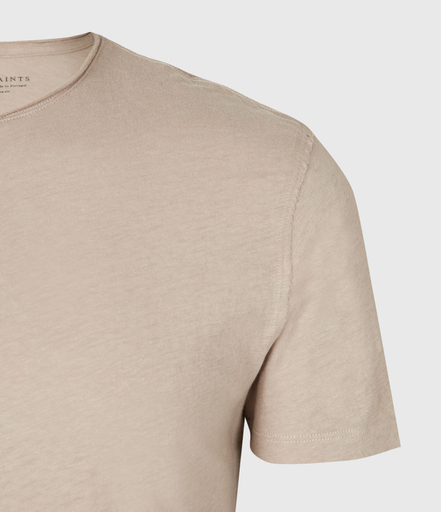 Mens Figure Crew T-Shirt (limestone_taupe) - Image 4