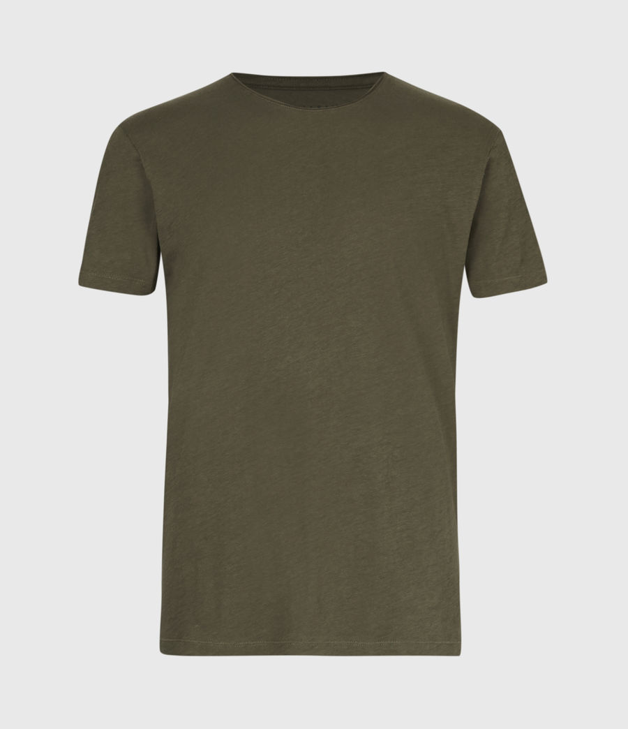Men's Figure Crew T-Shirt (seaweed_green) - Image 2