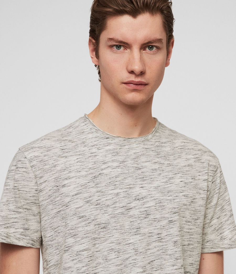 Herren Fiction T-Shirt (chalk_mouline) - Image 2