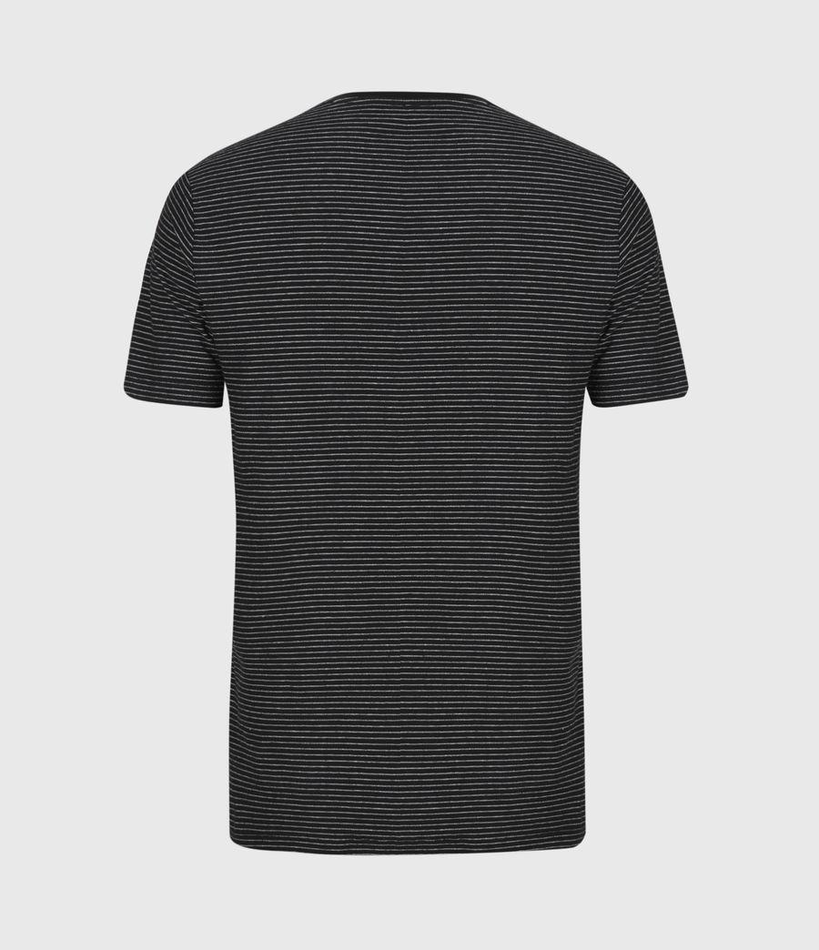 Mens Warren Crew T-Shirt (black) - Image 3