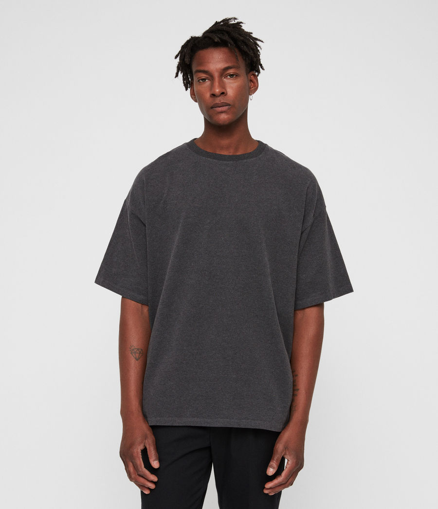 Men's Salvi Crew T-Shirt (charcoal_marl) - Image 1