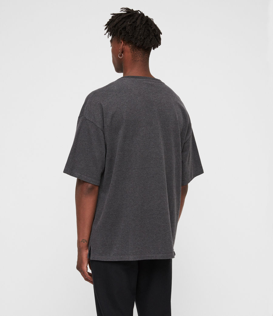 Men's Salvi Crew T-Shirt (charcoal_marl) - Image 5