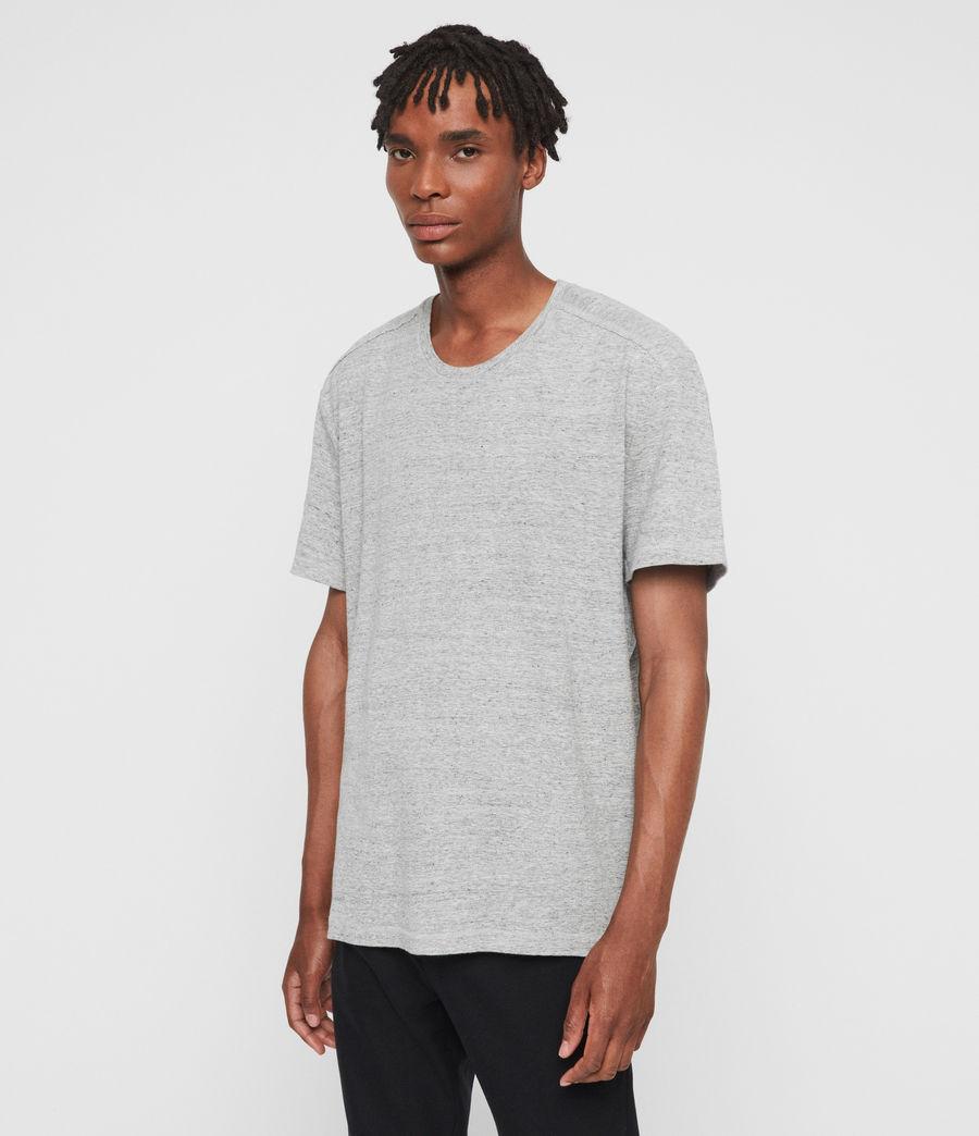 Men's Falcon Short Sleeve Crew T-Shirt (grey_marl) - Image 3