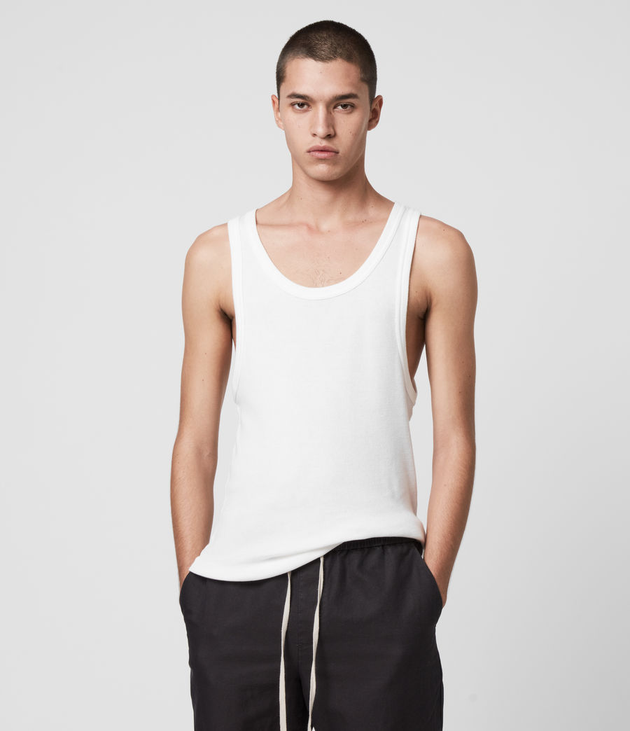 Men's Darius Vest (chalk_white) - Image 1