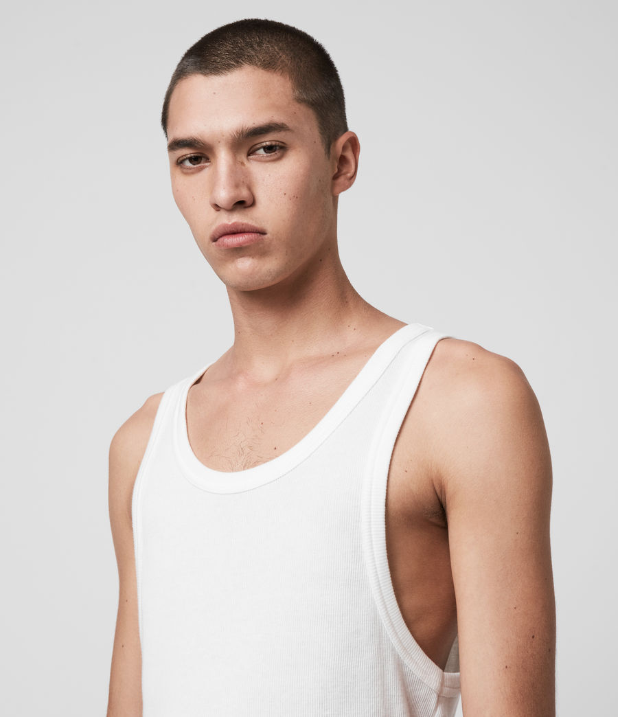 Men's Darius Vest (chalk_white) - Image 2